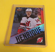 2015 TIM HORTON'S CANADA HOCKEY CARD ADAM HENRIQUE NEW JERSEY DEVILS #43