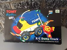 Vintage Tomy Big Fun  Rc Dump Truck  Radio Controlled Rare#Nib