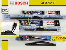 Para HONDA CIVIC 2.0 Tipo R EP3 Delantera Bosch Plástico Trasero de Hoja Plana Aero Limpiaparabrisas