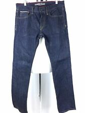 Express Limited Edition Selvedge Denim Slim Straight Jeans Size 31 x 32.
