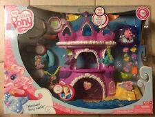 My Little Pony Mermaid Pony Castle Play Set Nib New Rare