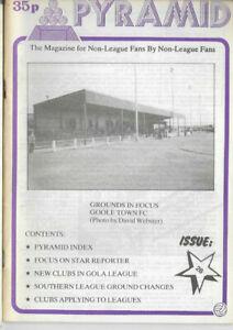 PYRAMID Issue No.26 (Non League Football Magazine) cover picture Goole Town