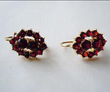 Granat - Ohrringe 585 Gold NR.  5865