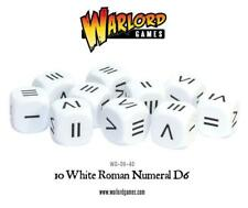 ROMAN NUMERAL DICE - WARLORD GAMES - HAIL CAESAR / GANGS OF ROME - NEW