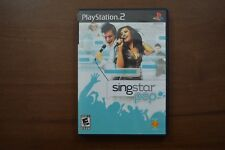 SingStar: Pop (Sony PlayStation 2, 2007) Game Only Microphone Required