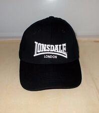 Lonsdale London Baseballcap Beanie Hat Schwarz Base Cap Mütze Black