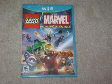 LEGO MARVEL SUPER HEROES...NINTENDO WII U...***SEALED***BRAND NEW***!!!!!