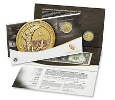 2015 Native American $1 Coin & Currency Set with Enhanced West Point Dollar