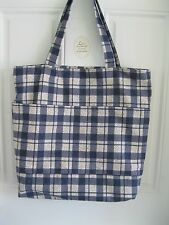 LARGE CUSTOM MADE REVERSIBLE TOTE BAG