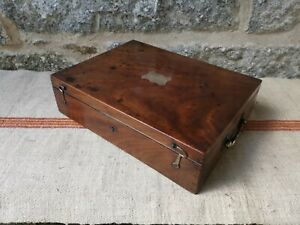 A Mahogany Campaign Box