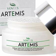 VOVEES Artemis Crema Viso Antirughe Idratante Bio con Acido Ialuronico Puro p...