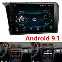 """2DIN 9"""" Android Radio For 2004-2009 Mazda 3 Stereo GPS 3G 4G Mirror Link +Canbus"""