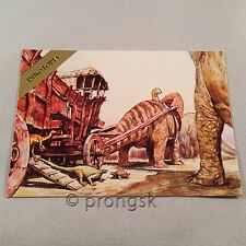 DINOTOPIA #14 Dung Wagon Trading Card James Gurney Collect-A-Card Art NM/M