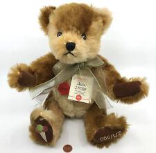 Hermann Germany Baccio Ice Cream Teddy Bear 35cm Mohair Plush Le 271/500 Tags