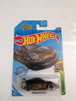 2020 Hot Wheels Porsche 911 GT3 RS Black HW Exotics Series Car 4/10 Col. No. 162