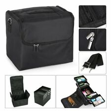 Extra Large Professional Beauty Bag Makeup Nail Tech Cosmetic Box Vanity Case UK