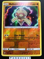 Carte Pokemon BALBUTO 78/168 REVERSE Soleil et Lune 7 SL7 FR NEUF