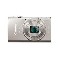 Canon PowerShot ELPH 360 HS 20.2 MP Point & Shoot Camera 12x Zoom Silver EUC!