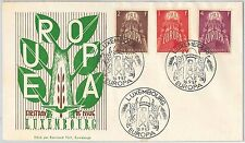 EUROPA CEPT ---- LUXEMBOURG -  FDC COVER 1959