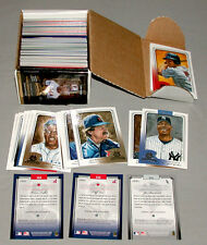 2003 Donruss Diamond Kings Complete MLB Baseball Card Set Of 176