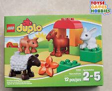 *NEW* LEGO Duplo Farm Animals 10522 Building Block Set Zoo Barn Barnyard Vet