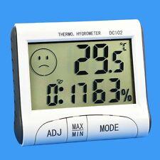 Digital LCD Thermometer Hygrometer Indoor Room Humidity Meter Temperature