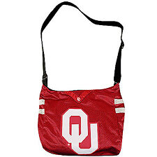 Oklahoma Sooners Jersey Tote Bag Purse