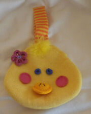 "Duck Head Girls Child Cloth Purse Wallet 7"" Diameter 5"" Handle"