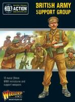 Bolt Action British Army Support Group Warlord Games 28mm WW2