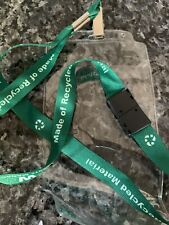 Waste Management Ticket Lanyard