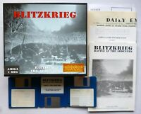 Amiga BLITZKRIEG: BATTLE AT THE ARDENNES Strategy Game INTERNECINE 1990 - TESTED