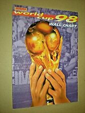 Coupe du Monde 98 Tableau Mural. 1998 Soccer. Football. Islande publication. inutilisé