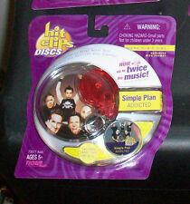 HIT CLIPS DISCS MINI DC SIMPLE PLAN ADDICTED + CARRYING CARRY CASE
