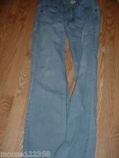 Levis light Blue Denim Jean stretch size  10 Long boot cut low