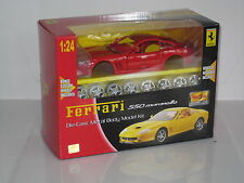 FERRARI 550 MARANELLO DIE CAST METAL KIT 1:24 SCALE MAISTO MODEL