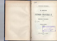 il regno di vittorio emanuele II - libro terzo -