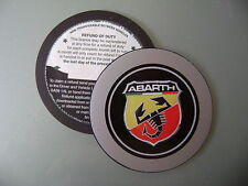 Magnetic Tax disc holder fits any abarth fiat 500 l punto brava seicento bravo