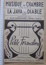 partition MUSIQUE DE CHAMBRE - LA JAVA DU DIABLE - Chenouard Elric  - orchestre