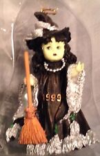 PATSY DOLL ORNAMENT 3 in TALL GREEN FACED WICKED WITCH F062  WIZARD OF OZ