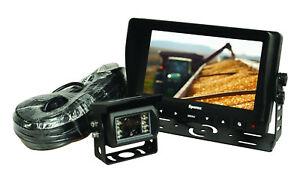 """7"""" LCD REVERSING CAMERA KIT, SUITABLE FOR TRACTOR, LORRY & CARAVANS"""