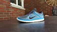 MENS NIKE FREE 4.0 FLYKNIT RUNNING SHOES SZ 10.5 44.5 M USED 631053 014 BLEMISH