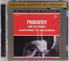 PROKOFIEV: Ivan the Terrible, Slatkin MFSL SACD Sorround Sound Multi CD NM