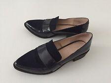Next Navy Shoes Size 39 UK Big 6