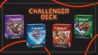 2021 MTG Challenger Deck Set of All 4 Decks - NEW AND SEALED