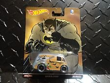 Hot Wheels Batman Quick D'Livery Van w/Real Riders