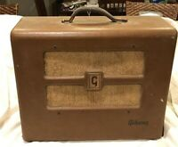 "Vintage 1950/60s Gibson Tube Amp Amplifier Jensen 10"" Speaker"