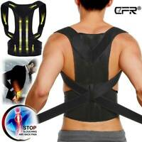 CFR Back Posture Corrector Shoulder Support Brace Belt Pain Therapy Men Women OB