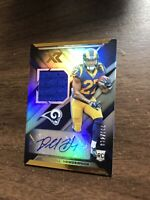 DARRELL HENDERSON RC 2019 PANINI XR ROOKIE RC GU AUTO /199 RAMS Hot Invest Now!