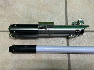Disney Parks Star Wars Rey FX Blue Lightsaber Removable Blade