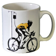 Banksy Lance Armstrong Ceramic Coffee Mug – Makes An Ideal Gift
